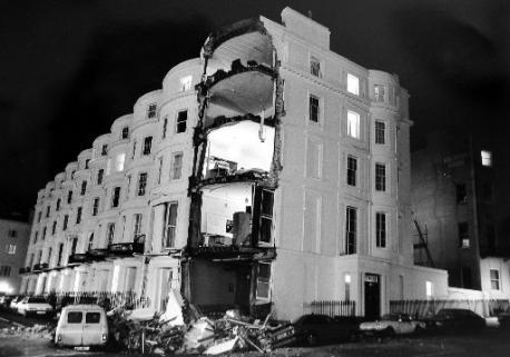 Percival Terrace after the collapse | Royal Pavilion and Museums Brighton and Hove