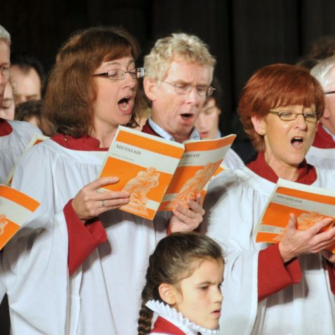 'The Messiah' always a firm favourite at the Carol Concert | Photo by Tony Mould