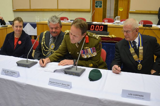 Signing of the Armed Forces Community Covenant | Photo by Tony Mould