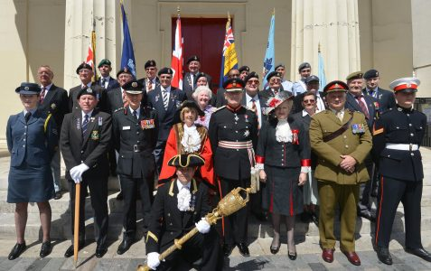 Armed Forces Day Veterans and Cadets parade