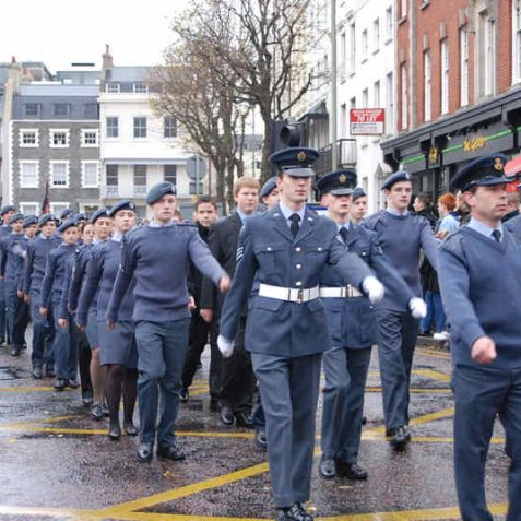Remembrance Day Parade | Photo by Tony Mould