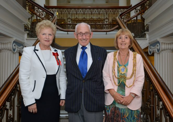 The High Sheriff of East Sussex, Juliet Smith, Arthur Green, the Mayor of Brighton and Hove, Councillor Lynda Hyde | ©Tony Mould: images copyright protected