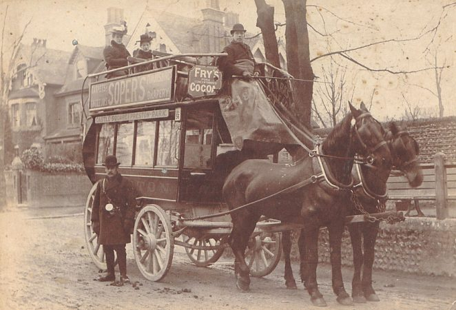 Horse drawn bus | From the private collection of Nick Pattenden