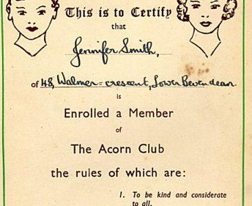 The Acorn Club
