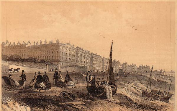 Postcard of Adelaide Crescent and Brunswick Terrace | Image reproduced with permission from Brighton History Centre