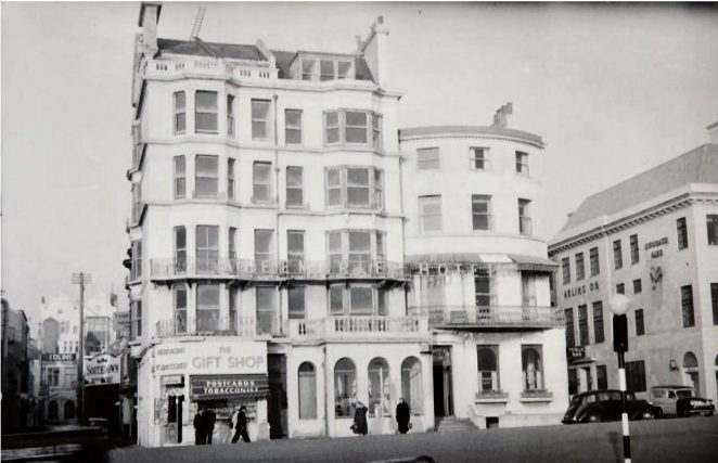 The Albemarle Hotel: photographed in 1958 | Image reproduced with kind permission of The Regency Society and The James Gray Collection