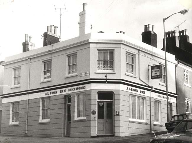 Albion Inn | Image reproduced with permission from Brighton History Centre