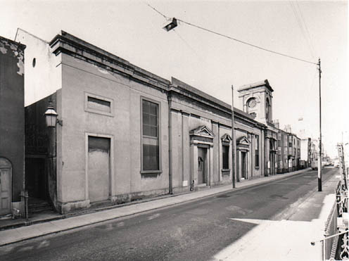 The Facade of All Souls Church, Eastern Road from the North-East | Image reproduced with permission from Brighton History Centre