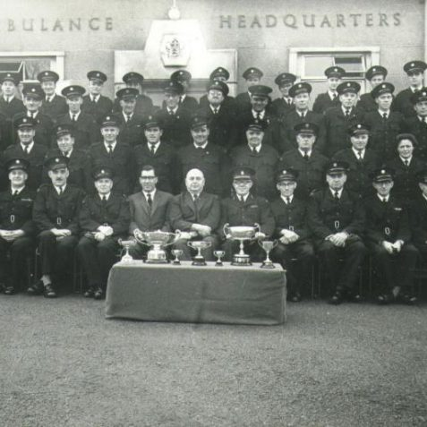 Ambulance personnel Brighton | Photo from private collection of Jim Type
