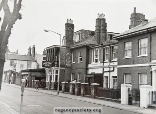 Arnold House Hotel -Click on images to open larger version in a new window   Image reproduced with kind permission of The Regency Society and The James Gray Collection