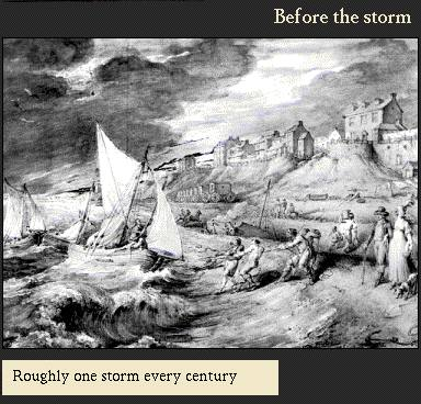 Roughly one storm every century | Image from the 'My Brighton' exhibit