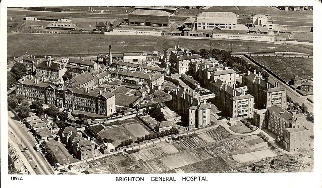 General Hospital early 1950s | From the private collection of Kenneth Ross