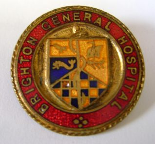 SRN Brighton General Hospital Badge | From the prive collection of Kenneth Ross