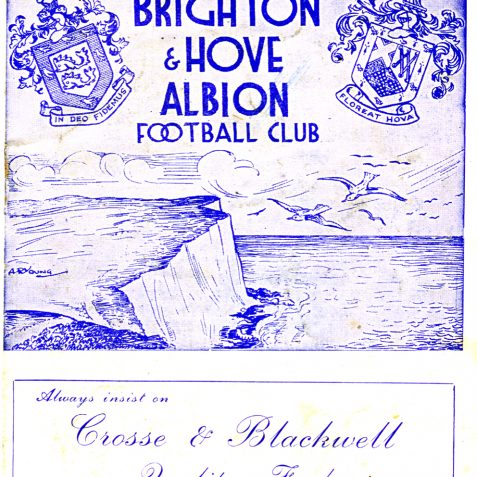 Post war programme   From the private collection of Bob Herrick