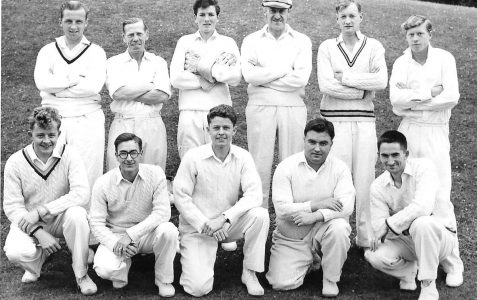 Brighton Old Xaverians Cricket XI around 1956-8