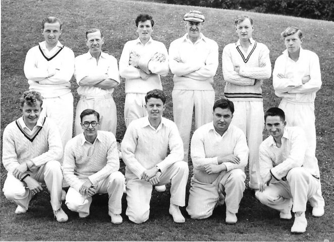Brighton Old Xaverians Cricket XI around 1956-8 | From the private collection of Richard White
