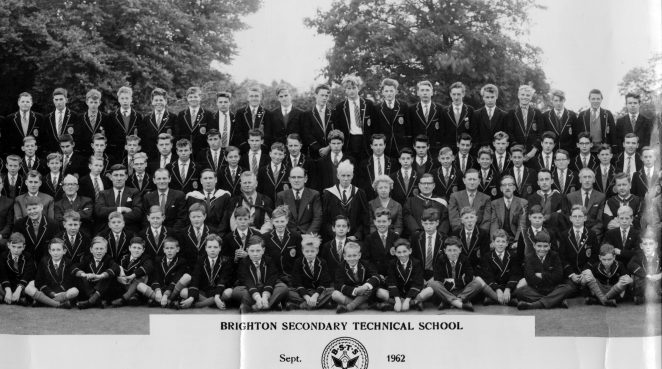 Brighton Secondary Technical School | From the private collection of Clive Custance