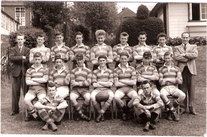 BTSC Rugby 1st XV team 1953-1954 | From the private collection of Alan Scales