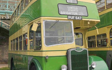 Brighton and Hove Buses 75th Anniversary Rally