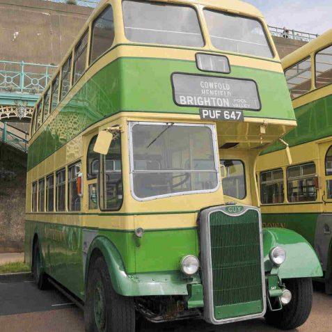Brighton and Hove Buses 75th Anniversary Rally | Photo by Tony Mould