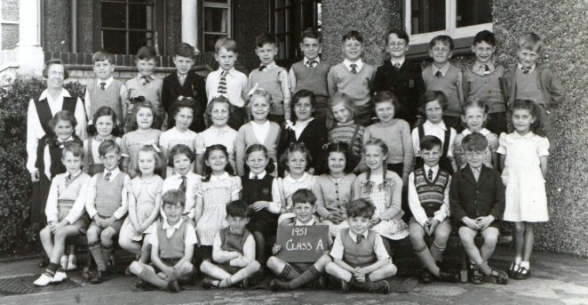 Class A Balfour Road School | From the private collection of Marion Goodwin