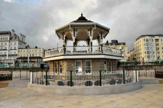 The newly restored 'Birdcage' Bandstand | Photo by Tony Mould