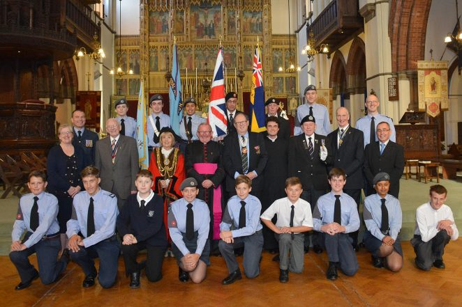 Commemoration of the Battle of Britain service   ©Tony Mould:images copyright protected