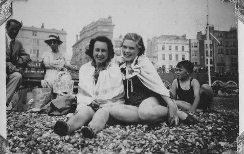 Brighton beach August 1940