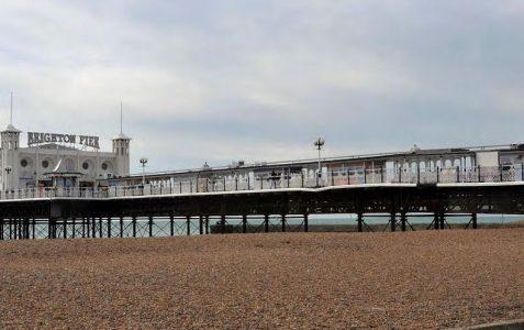 Palace Pier beach