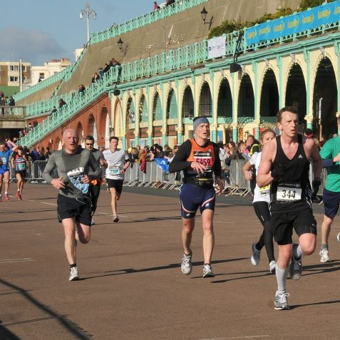 Brighton Half Marathon | Photo by Tony Mould: click on image to open a large version in a new window.