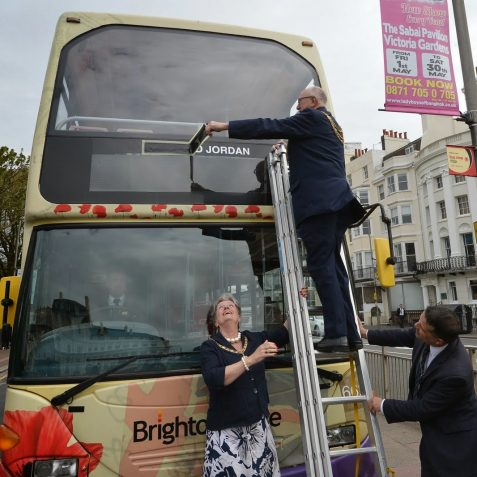 Bus naming ceremony:©Tony Mould