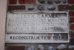 Memorial to Deryk Carver | Photo by Tony Mould