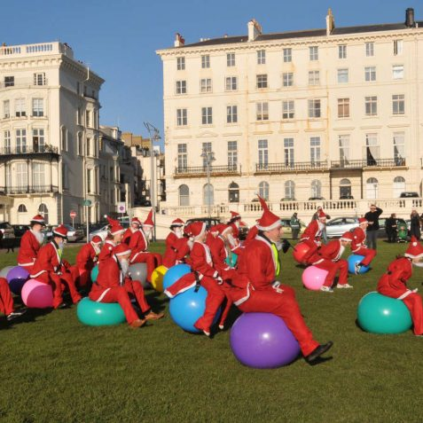 Bounce your Baubles: charity fundraising event for testicular cancer | Photo by Tony Mould