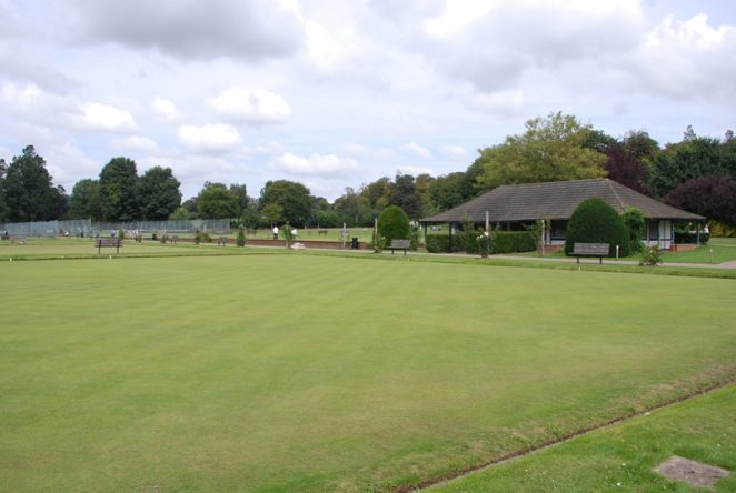 Former bowling greens   ©Tony Mould: images copyright protected