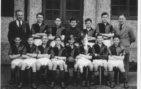 Class and sports photos c1948