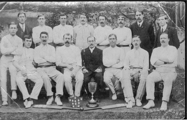 Cricket team c1910? | From the private collection of Carol Trotman nee Breeds