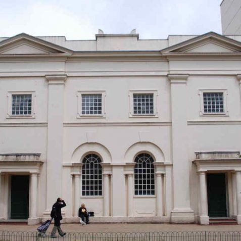 Brighthelm Centre main facade is that of the 1825 Hanover Chapel | Photo by Tony Mould