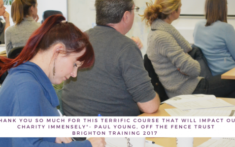 Subsidised training for community groups and small charities