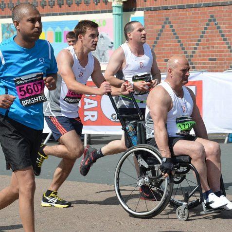 2012 Brighton Marathon   Photo by Tony Mould