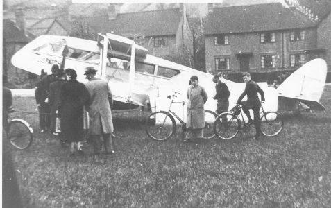 Emergency landing by aeroplane:17th May 1939