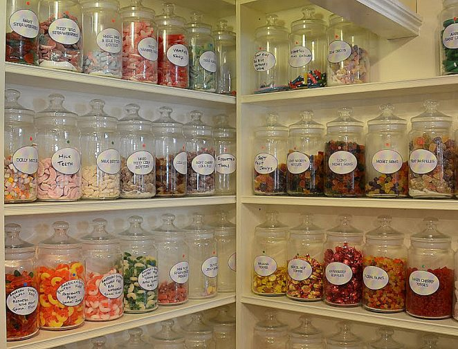 'Vintage' sweets   Photo by Tony Mould