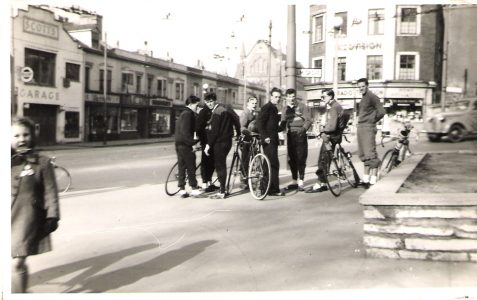 Brighton Excelsior Cycling Club in the 1950s