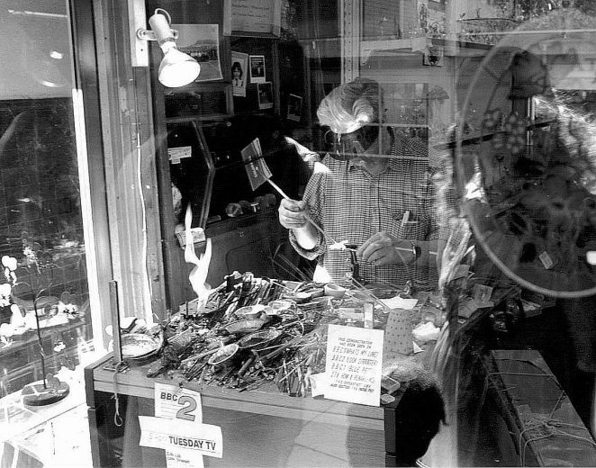Where was this shop | From the private collection of Stefan Bremner-Morris