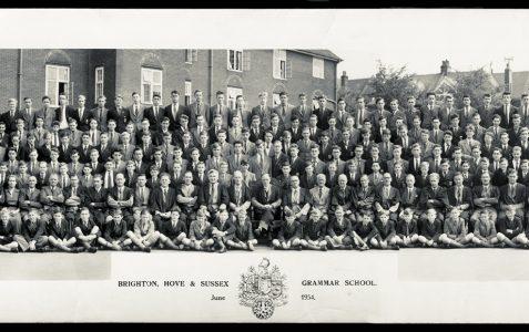 School photograph 1954