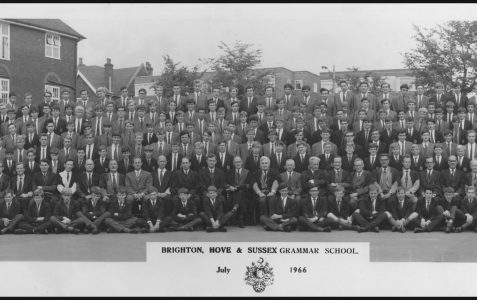 School photograph July 1966