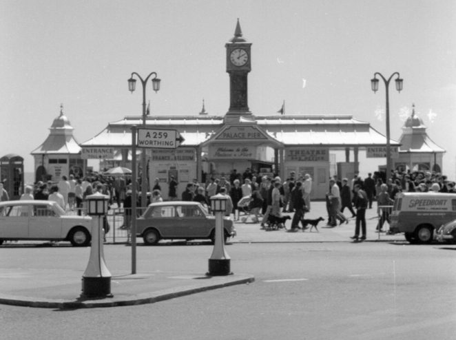Palace Pier 1969 | From the private collection of Chris Twigg