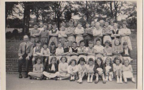 Class of 1958 photograph