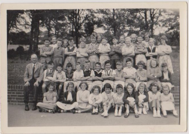 Class photograph 1958 | From the private collection of By Linda Buckley nee Bassett
