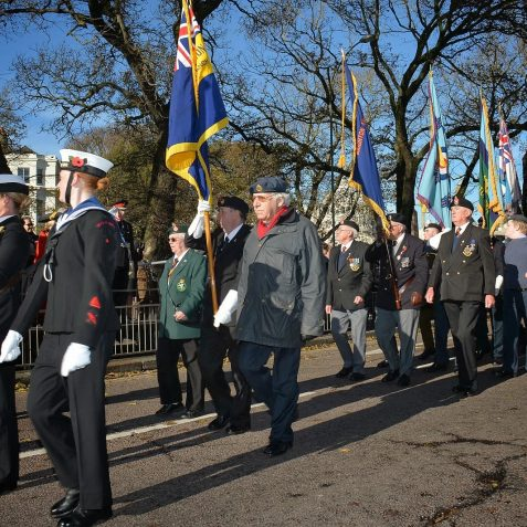 Brighton and Hove Remembrance 2013 | Photos by Tony Mould