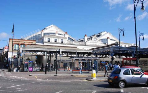 Brighton Station: opened 1840